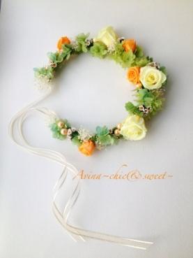 C新娘頭飾
